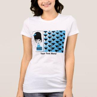 Women's Jersey T-Shirt BIG HAIR MODERN GIRL