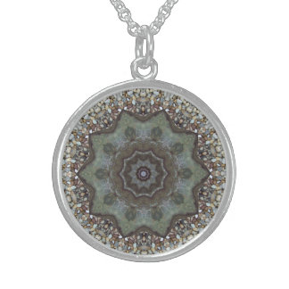 Womens/Jewelry/Pendants/Earths Offerings Round Pendant Necklace