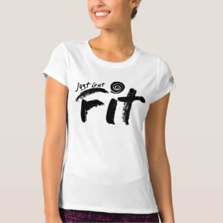 Women's Just Get Fit Stacked Logo T-Shirt