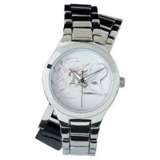 womens kush urban wear classic silver watch  v.1