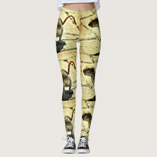 "Women's Leggings ""Alien Ground Squirrel"""