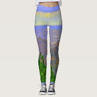 Women's Leggings Grand Canyon In Cartoon