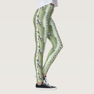 "Women's Leggings ""Hummer On Saguaro"""