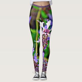 "Women's Leggings ""Purple Lavender"""