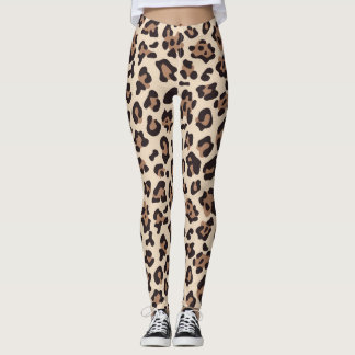 Women's Leopard Print Fashion Leggings
