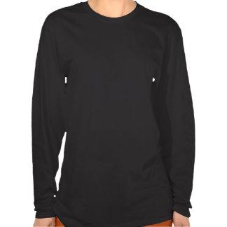 Womens long sleeve Black logo Shirt