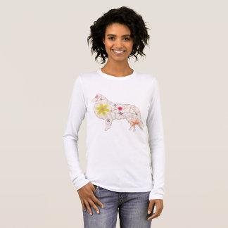 Women's Long Sleeve T-Shirt collie vintage