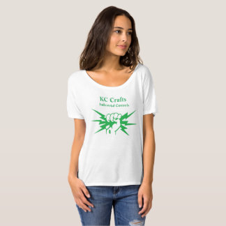 Women's Loose White T-Shirt