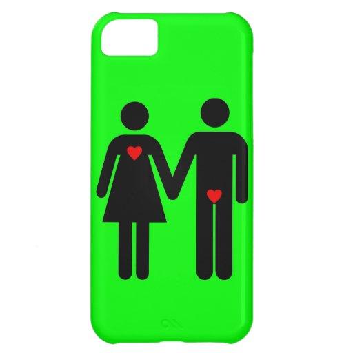 Womens love vs mens love joke humour cover for iPhone 5C