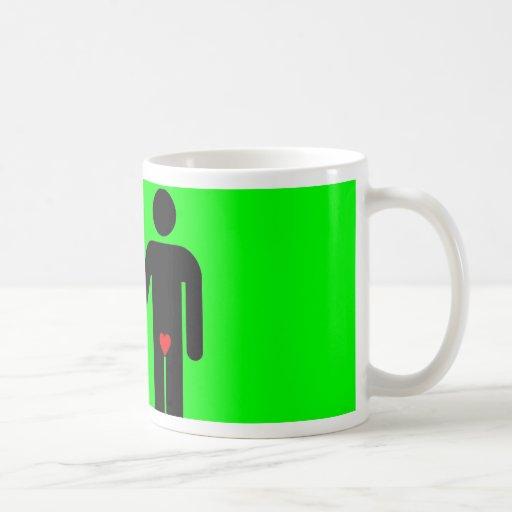 Womens love vs mens love joke humour mugs