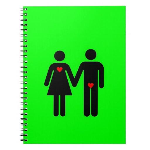 Womens love vs mens love joke humour journals