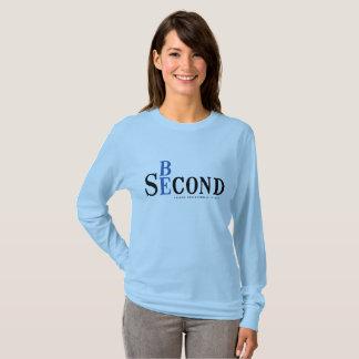 Womens LS lt blue shirt