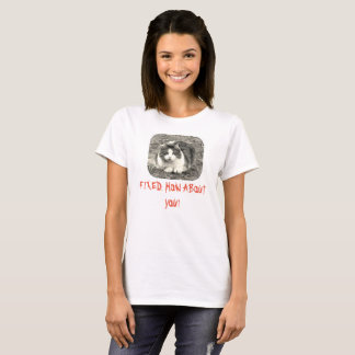 Womens Mad cat FIXED how about you T-Shirt