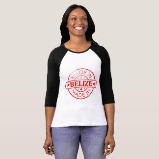 "Women's ""Made in Belize"" 3/4 Sleeve Raglan T-Shirt"
