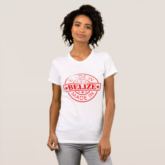 """Women's """"Made in Belize"""" American Apparel T-Shirt"""
