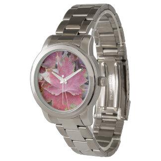 Women's Maple Leaf Silver Watch