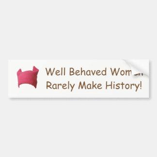 Women's March 2017 Bumper Sticker