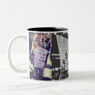Women's March 2018 Clever Signs Mug