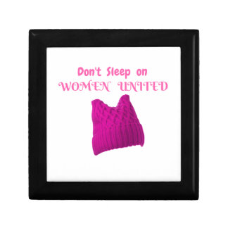 WOMEN'S MARCH DON'T SLEEP ON WOMEN UNITED GIFT BOX
