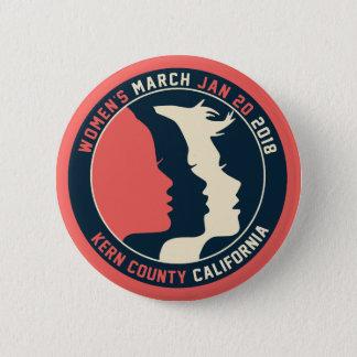 Women's March Kern Button
