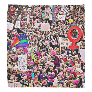 Womens March LGBT protesters  Photo Bandanna