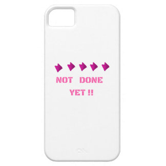 WOMEN'S MARCH NOT DONE YET iPhone 5 CASE