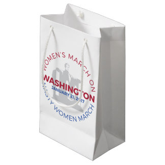 Women's March on Washington - Nasty Woman March Small Gift Bag