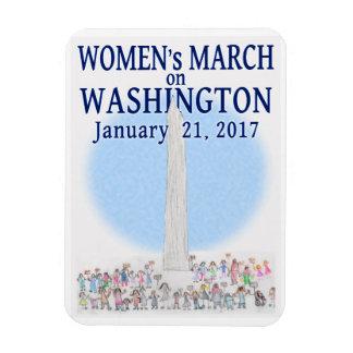 Women's March on Washington Rectangular Photo Magnet