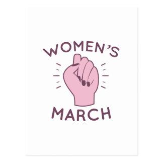 Women's March Postcard