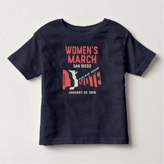 Women's March San Diego Official Kids T-shirt