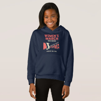 Women's March San Diego Official March Kids Hoodie