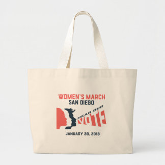 Women's March San Diego Official March Tote Bag
