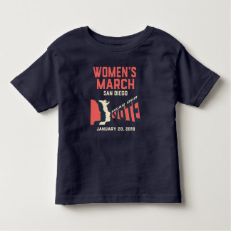Women's March San Diego Official Toddler T-shirt