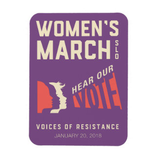 Women's March SLO 2018 January Event Magnet