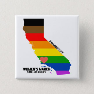 Women's March SLO January Event 15 Cm Square Badge
