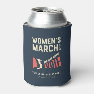 Women's March SLO January Event Can Cooler