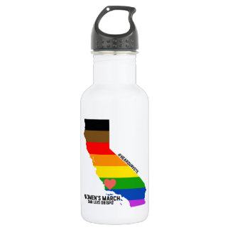 Women's March SLO - LGBTQ 532 Ml Water Bottle