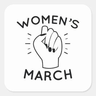 Women's March Square Sticker