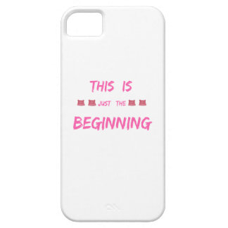 WOMEN'S MARCH  THIS IS JUST THE BEGINNING BARELY THERE iPhone 5 CASE