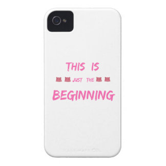 WOMEN'S MARCH  THIS IS JUST THE BEGINNING Case-Mate iPhone 4 CASE