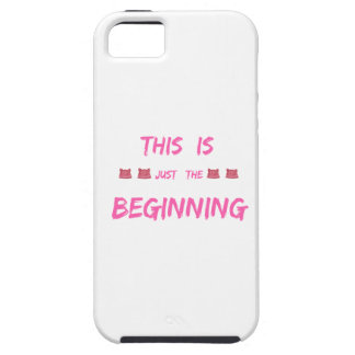 WOMEN'S MARCH  THIS IS JUST THE BEGINNING iPhone 5 CASES