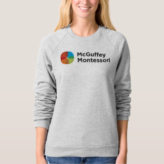 Women's McGuffey Spirit Wear Grey Sweatshirt