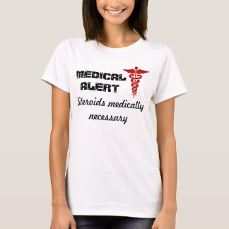 Womens medical alert shirt