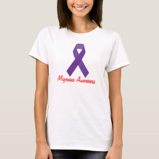 Womens Migraine Awareness T-shirt