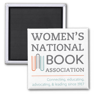 Women's National Book Association logo magnet