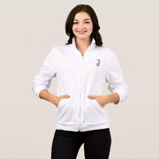 womens NeiceeJ Apparel white jacket