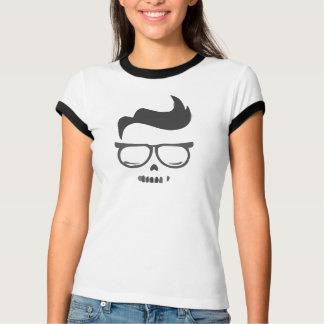 Women's Nerdead - dead nerd ringer t-shirt