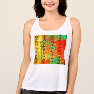 Women's New Balance Painted Saguaro Tank Top