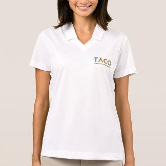 Women's Nike Dri-FIT Pique TACO Logo Polo Shirt