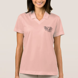 Women's Nike Dry-Fit Pique HSO Logo Polo Shirt